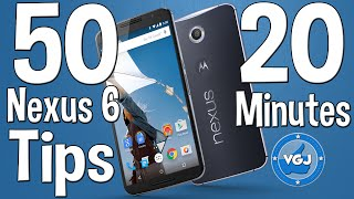50 Nexus 6 Tips and Tricks