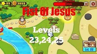 Fist Of Jesus EP10 (PC) Levels 23, 24, 25 Gameplay