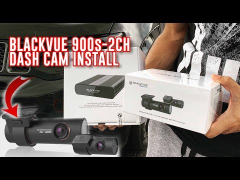 BLACKVUE 900S-2CH Dash Cam Step By Step Install With Power Magic Ultra Battery