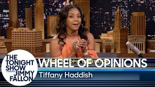 Wheel of Opinions with Tiffany Haddish