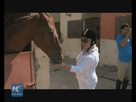Horse riding in Egypt, a sport of harmony