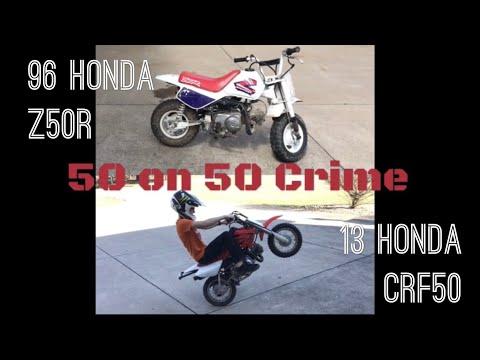 Honda Z50R VS Honda CRF50