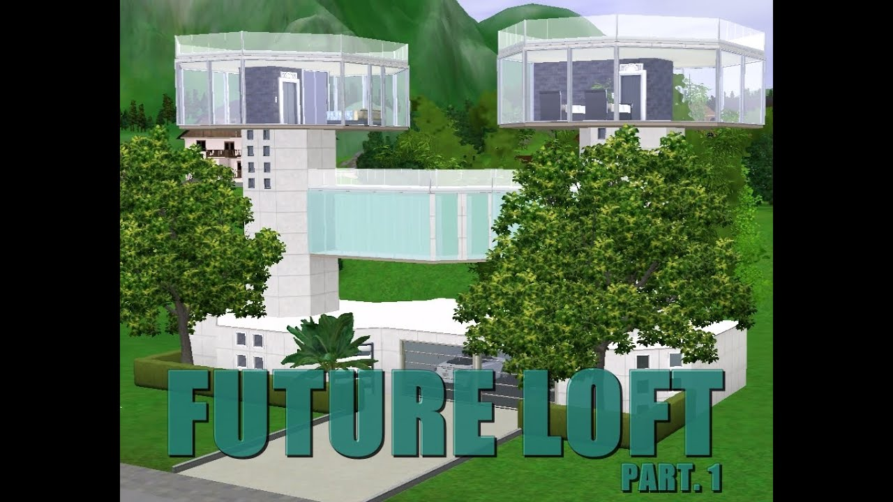 The Sims 3 Future Loft Speed Build Hd Download Youtube