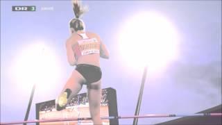 Czech pole vaulter Jirina Svobodova Zyrich 2014