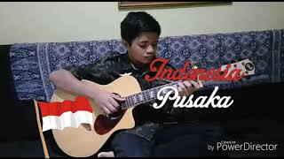 Indonesia Pusaka Cipt .Ismail Marzuki Fingerstyle Guitar Cover