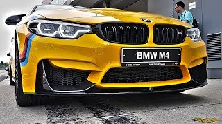 Video Любитель ВАГ сел за руль настоящей BMW! БМВ М4 Performance и BMW M2 download MP3, 3GP, MP4, WEBM, AVI, FLV Februari 2018