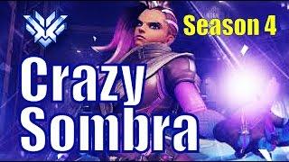 Codey Sombra GOD 14 Kill Streak | Route 66 | Overwatch Pro Gameplay