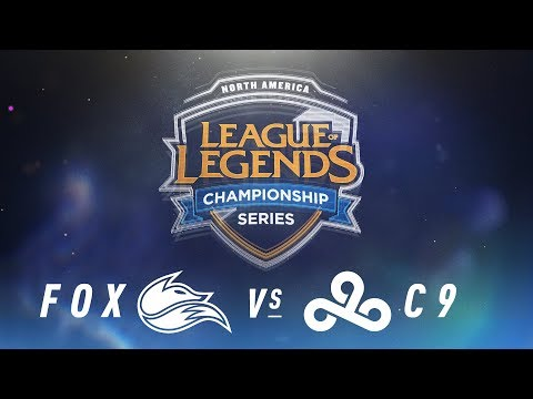 FOX vs. C9 - Week 5 Day 2 | NA LCS Spring Split | FOX vs. C9 (2018)