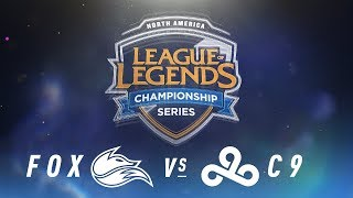 Video FOX vs. C9 - Week 5 Day 2 | NA LCS Spring Split | FOX vs. C9 (2018) download MP3, 3GP, MP4, WEBM, AVI, FLV Agustus 2018