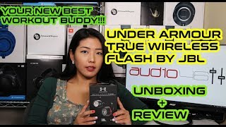 JBL Under Armour True Wireless Flash  [Unbox & Review]: Your Best Workout Buddy