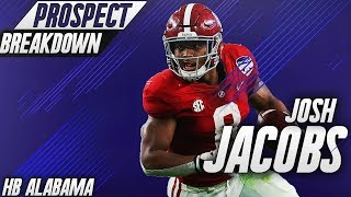 Josh Jacobs | Alabama RB | 2019 NFL Draft Prospect Breakdown