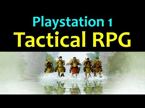 10 Awesome PS1 Tactical RPG Games 😍 Video 1 ... (Gameplay)