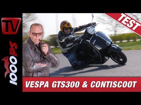 Vespa GTS300 2019 & ContiScoot - Dreamteam?