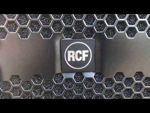 "RCF SUB 9007-AS Dual 21"" 7200 Watt Subwoofer and Kart Demo *Authorized Dealer*"