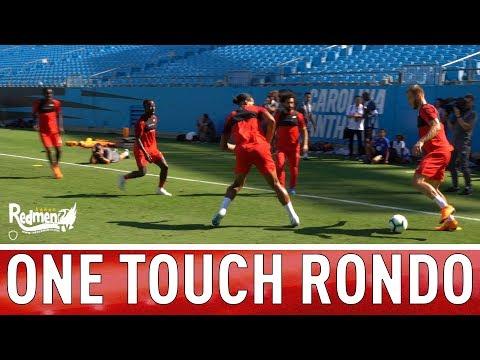 Salah, Van Dijk, Keita, Sturridge one touch RONDO! | US Tour 2018