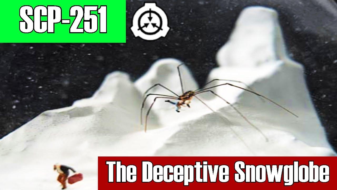 SCP-251 The Deceptive Snow globe | Euclid | Cognitohazard / visual scp