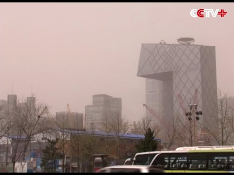 Sand, Dust Storms Hit North China