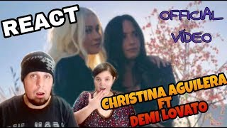 Baixar REAGINDO: CHRISTINA AGUILERA FALL IN LINE OFFICIAL VIDEO FT DEMI LOVATO (REACT)
