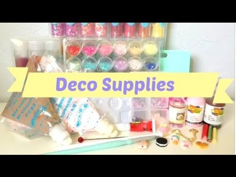 Deco Supplies and Where to Buy or DIY Them! (Deco Series #1)