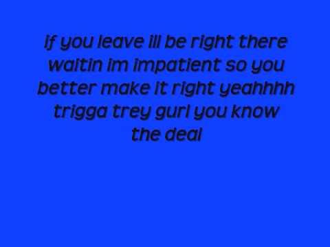 Trey Songz - Best I Ever Had [[ Lyrics ]]