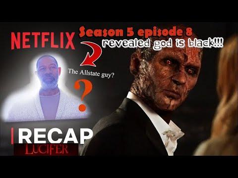 Lucifer Season 5 Ep 8 God S Debut Revealed God Is Black Explained Youtube