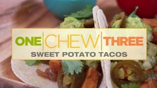 Sweet Potato Tacos Dish - The Chew