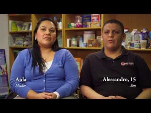 """Aida and Alessandro"" - Dell Children's Medical Center's Family & Child Obesity Project"