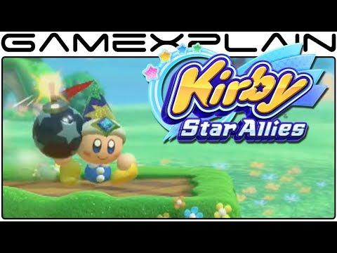 Kirby: Star Allies - Introducing Kirby's Friends Trailer (JP)
