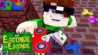 Minecraft: FIDGET SPINNER! (Esconde-Esconde)