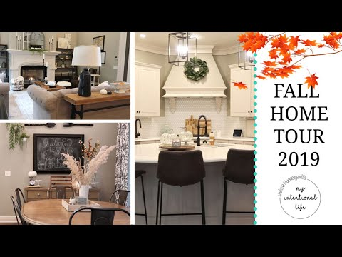 FALL HOME TOUR 2019 // MY INTENTIONAL LIFE