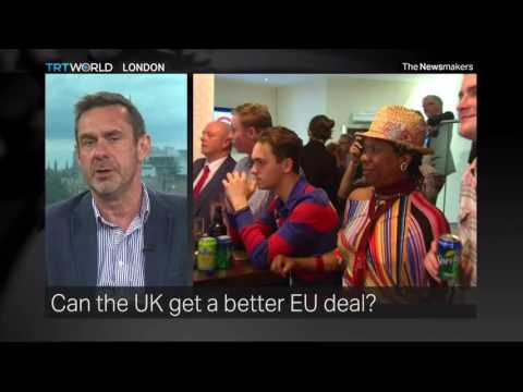 The Newsmakers: A Brexit-EU Deal and Daesh in Iraq