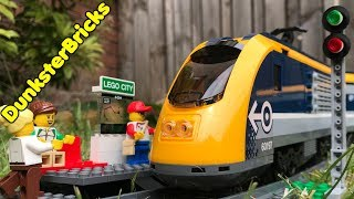 LEGO City Passenger Train Review, Set 60197! Released 2018