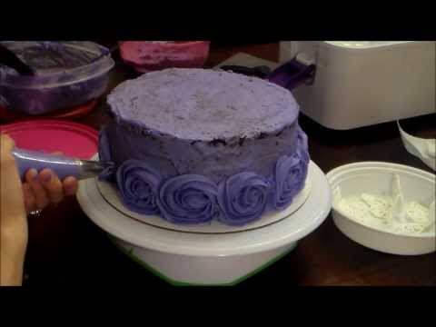 How To make Rosette Ombre Butterfly Cake Review