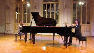 klara lužnik 15 y o w a mozart piano concerto kv 488 1st mvt