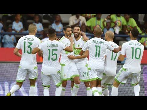 AFCON 2017: Mahrez scores twice but Algeria held by Zimbabwe
