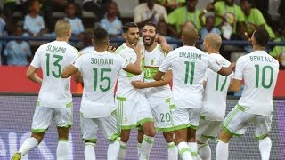 AFCON 2017: Mahrez scores twice but Algeria held by Zimbabwe
