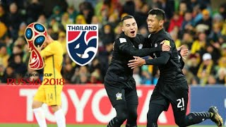 World Cup Road to Russia  (Qualifies)• Thailand National Team