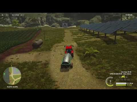 Let's Play Pure Farming 2018 Columbia map  part 4    Wet fie