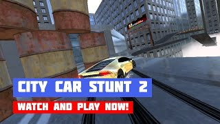 City Car Stunt 2 · Game · Gameplay