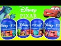 Disney/Pixar Surprise Eggs Find Cars Monsters University & Toy Story Mystery Toys