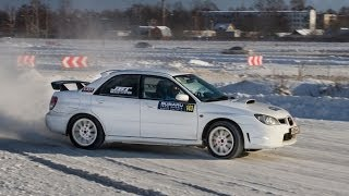Subaru Team Russia Winter Cup 2014 by STi-Club. Спринт 'Раменский Ипподром'