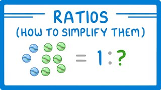 GCSE Maths - What are Ratios & How to Simplify Them (Part 1) #81