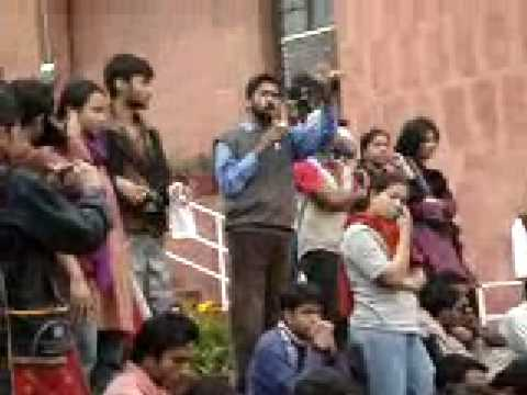 JNUSU president's speech