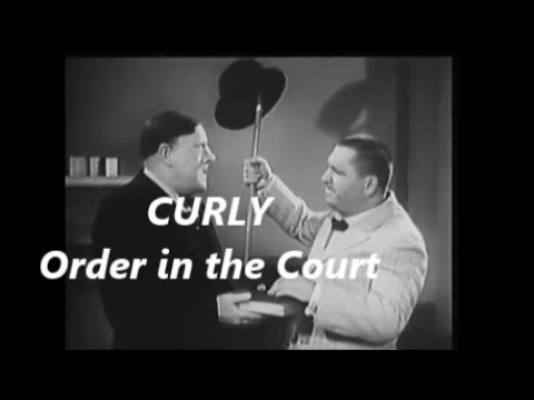 Curly Howard of the Three Stooges at His Best