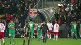 RB Salzburg : SK Rapid 10.03.2012
