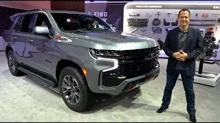Is the 2021 Chevrolet Tahoe Z71 the BEST full size off road SUV to BUY?