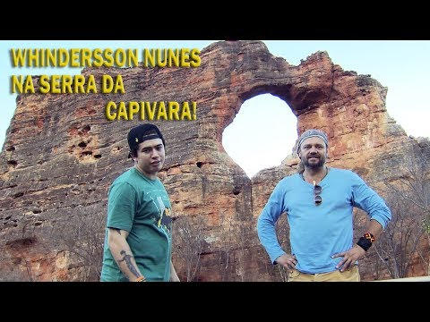 VISITANDO A SERRA DA CAPIVARA COM WHINDERSSON NUNES | RICHARD RASMUSSEN