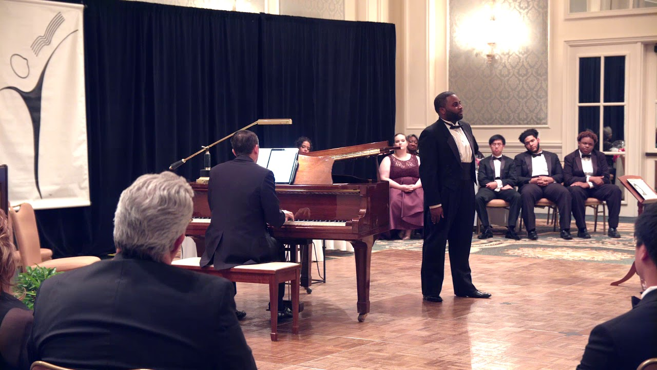 Tislam Smith (tenor), Kyle Mattingly (piano) My Soul's been Anchored In De Lord, Florence Price