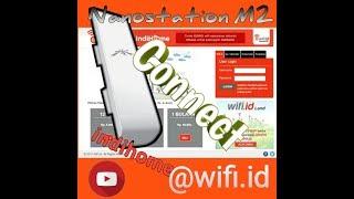 cara setting ubiquti nanostation m2 wifi id