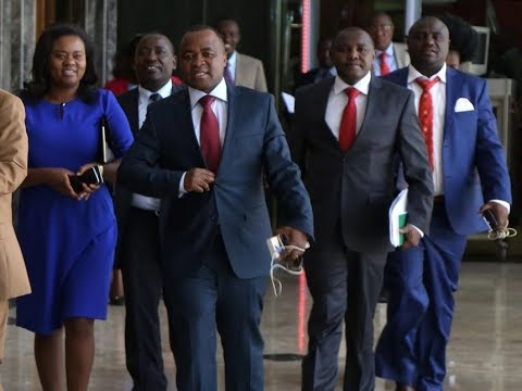 NASA and Jubilee MPs face off once again over President Uhuru's address